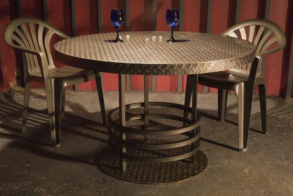 Furniture Z Studios Nyc Waterjet Cutting Custom Metal Fabrication Brooklyn Ny 11233